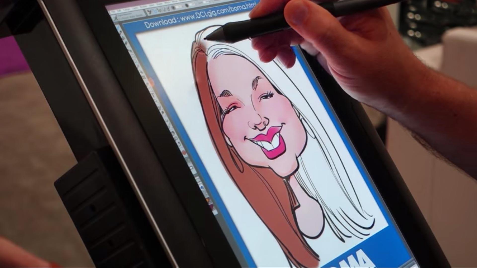 Virtual Cartoon Artist (Caricaturist)