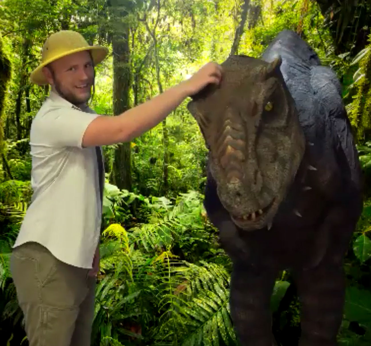 Virtual Meeting With J-Rex & The Archeologist (Specialty Act)