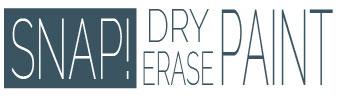 Snap! Dry Erase Paint