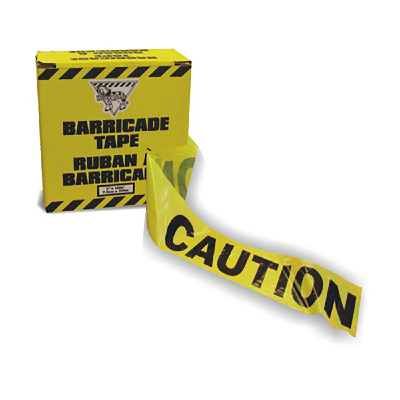 Workhorse Yellow Barricade Tape (Caution)