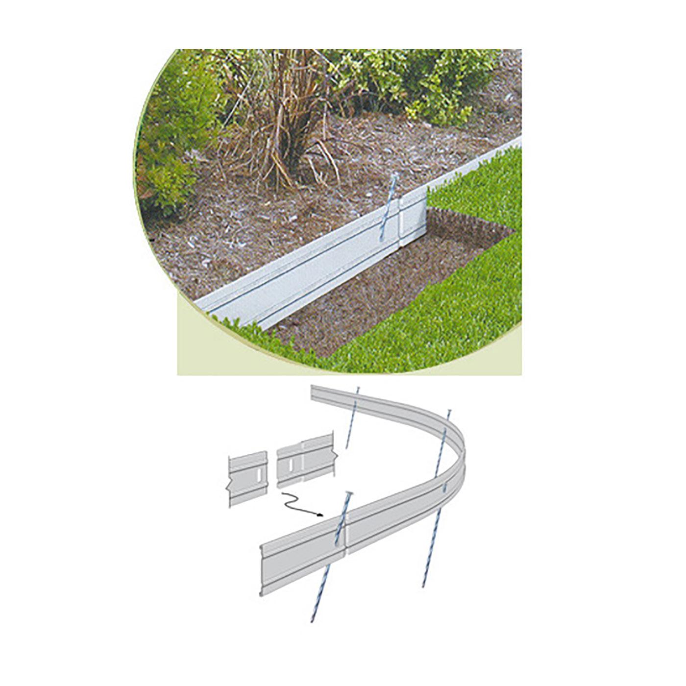 EDGESTAR II Aluminum Landscape Edging