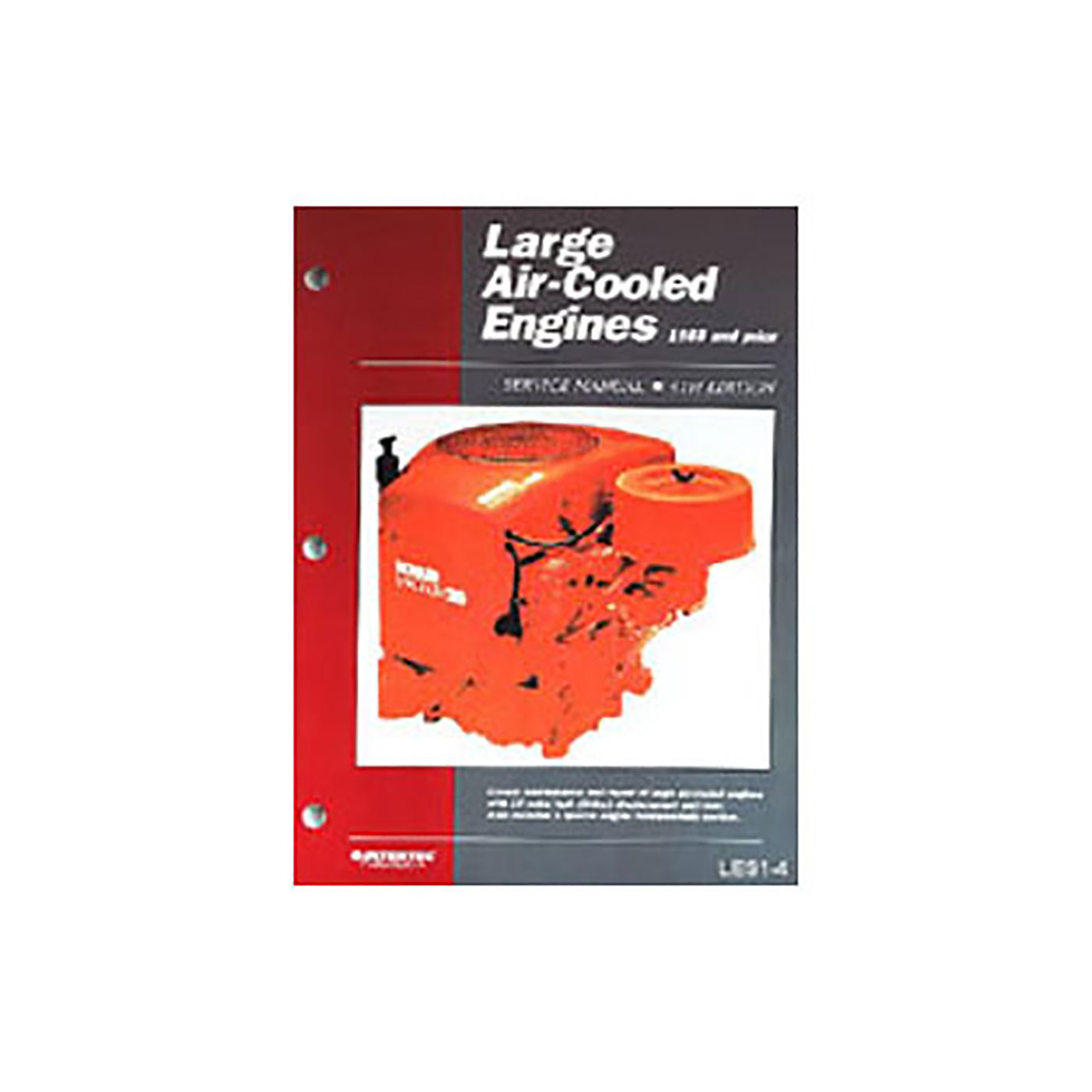 Large Air-Cooled Engines Maintenance & Repair Manual (1988 and prior)