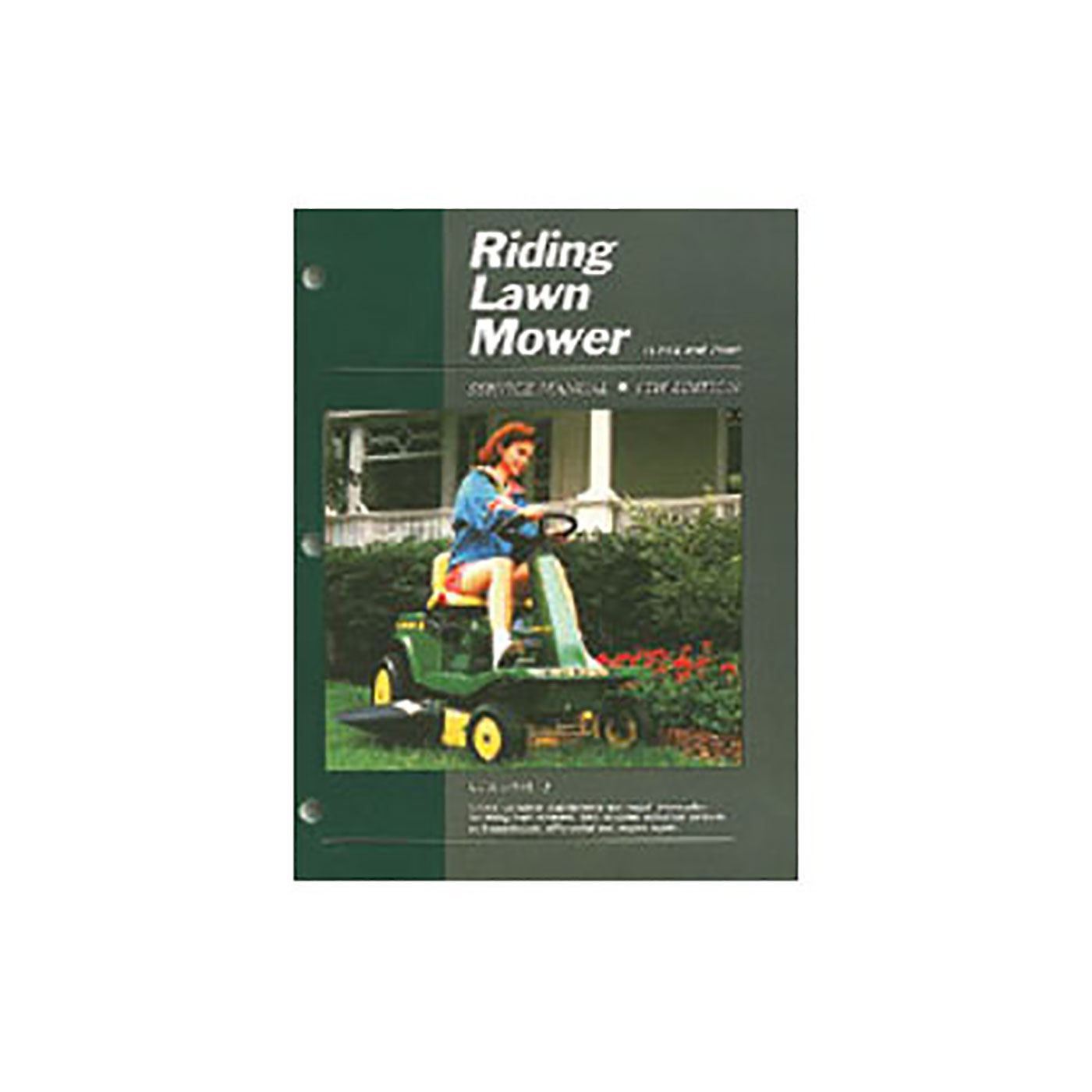 Riding Lawn Mower (1991 and Prior)