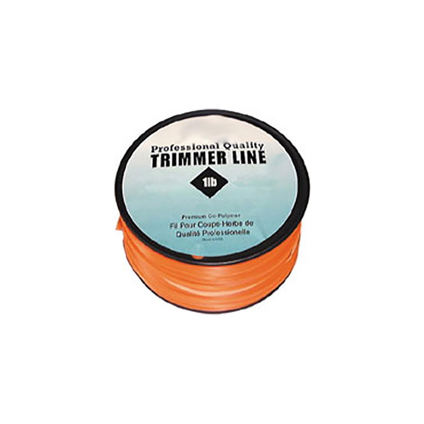 1 lb .095 Square Trimmer Line