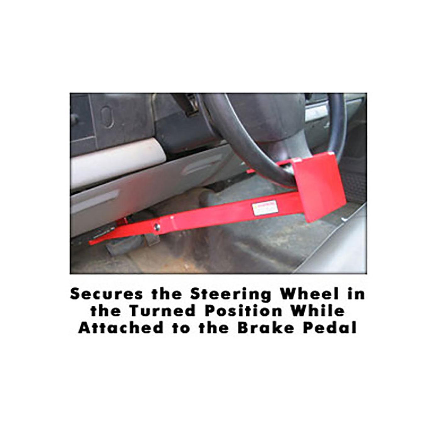 Wheel to Pedal Lock