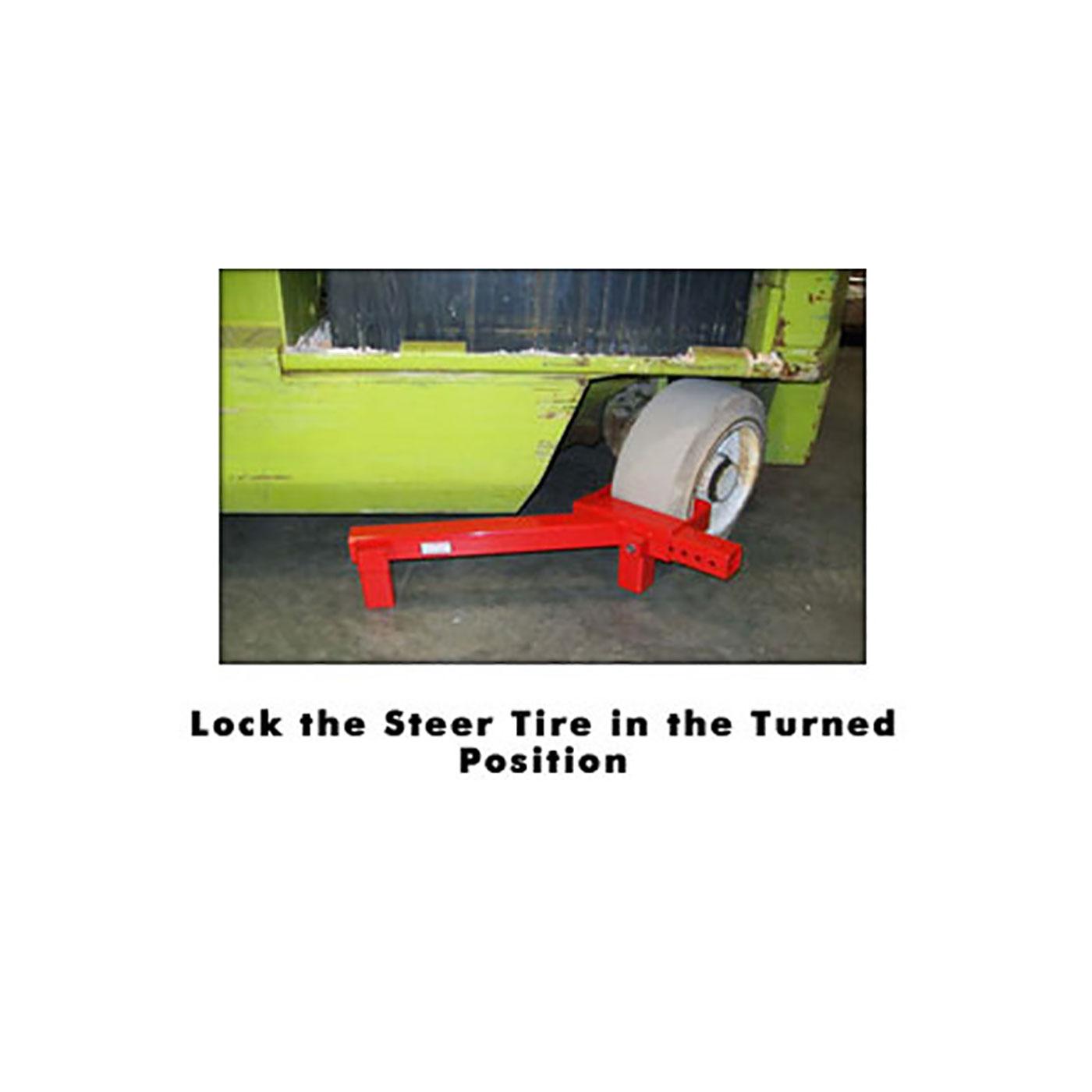 Cushion Tire Lift Lock