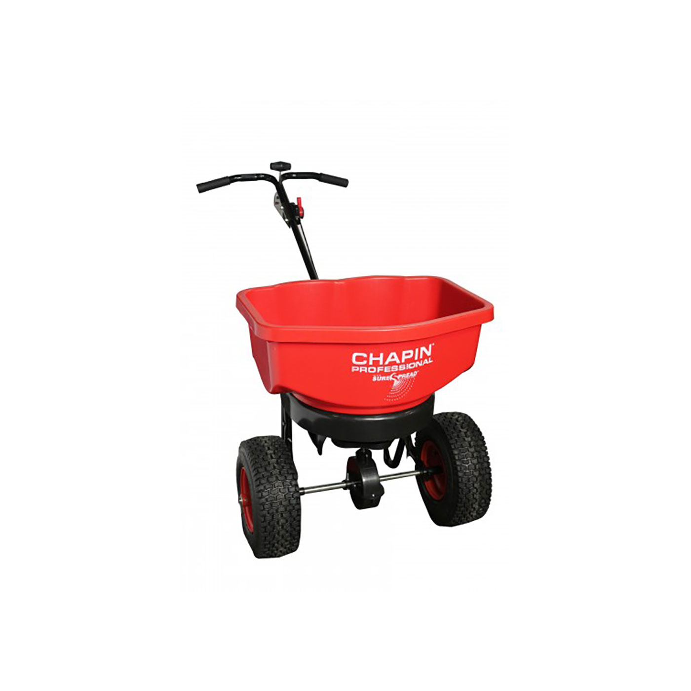 SureSpread ALL SEASON 80lb Professional Push Spreader