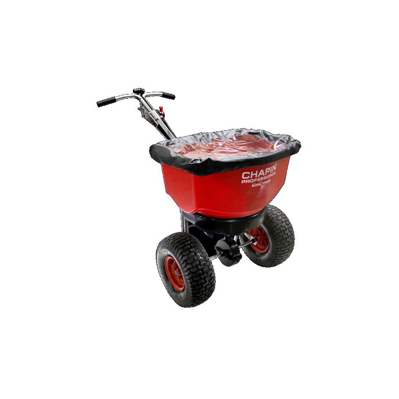 SureSpread ALL SEASON 100lb Professional Stainless Steel Push Spreader