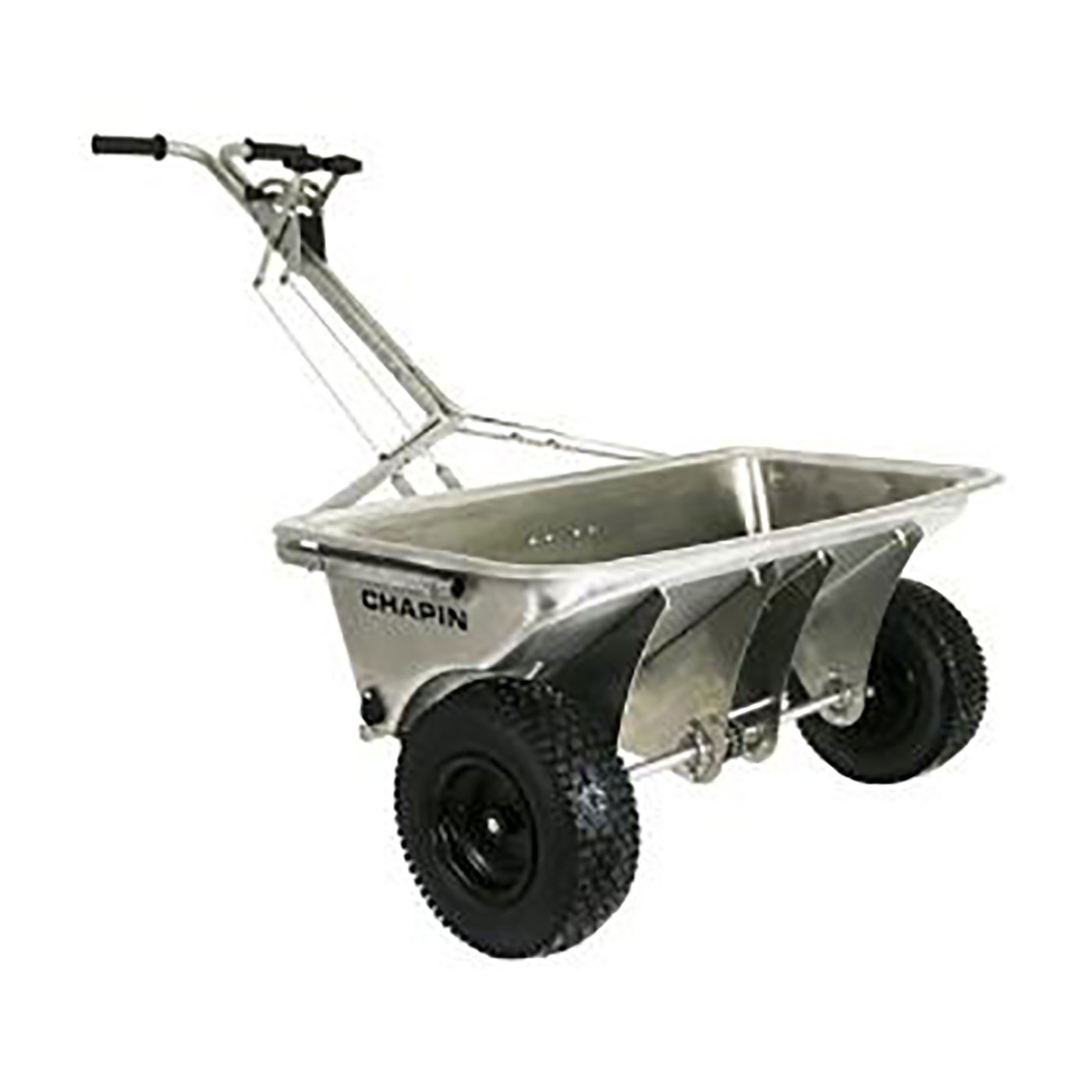 Chapin 200 lb Professional Stainless Steel Rock Salt Drop Spreader